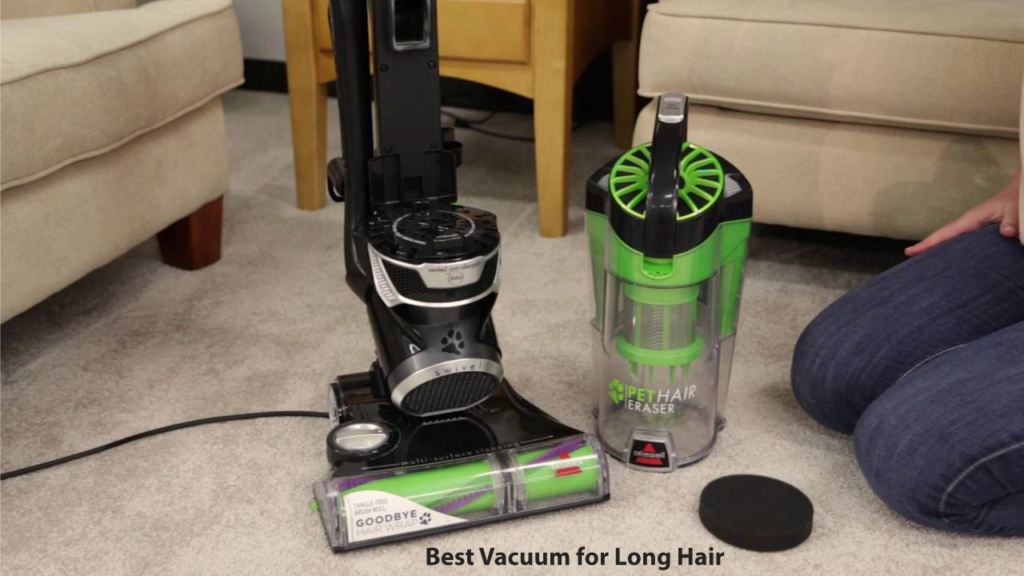 What model of a vacuum cleaner would be best for cleaning up long hair?