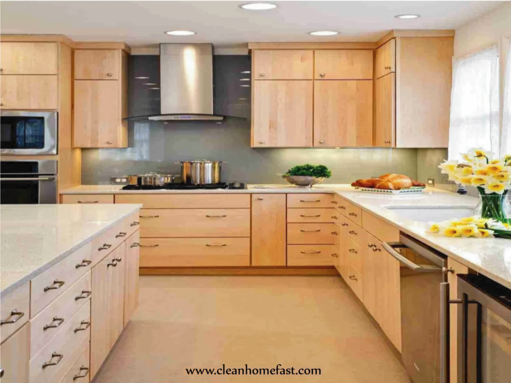 How To Clean Wood Kitchen Cabinets Of Grease