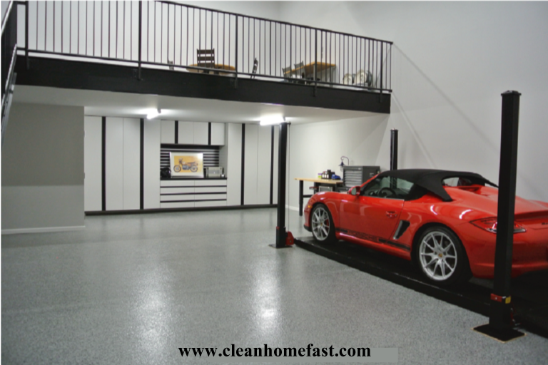 How To Clean A Garage Floor Before Painting