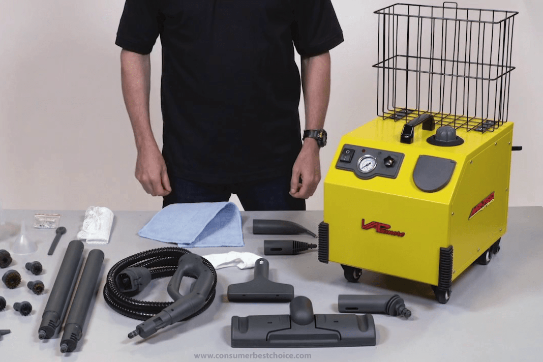 Vapamore mr-1000 commercial steam cleaning system
