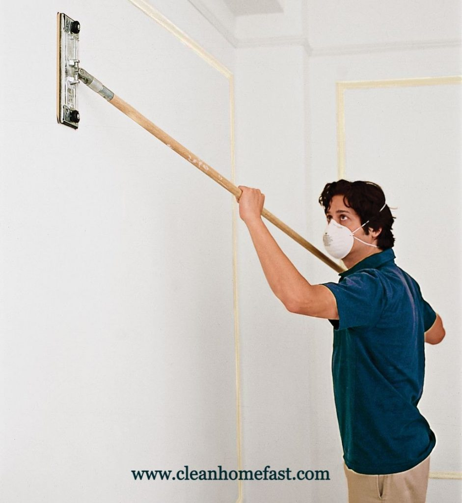 How to steam clean walls and ceilings?
